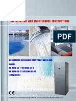 AWA Series With DC Inverter Installation Manual