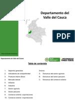 Mincomercio Perfil Economico Valle Del Cauca Enero 2013