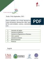 Periodico Septiembre 2013