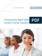 Choosing the Right Telemarketing Contact Center Solution for BPO's