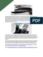Rumor Spesifikasi Smartphone Layar Fleksible Besutan Samsung