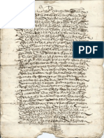 Very Old Unknown Manuscript