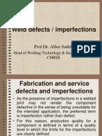 Weld Defects
