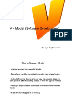 VModelofSoftwareTesting