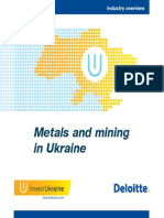 Metals and Mining in Ukraine