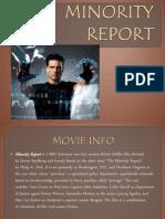 Minority Report Presentation
