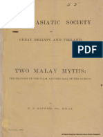 two malay myths