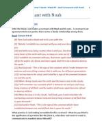 Microsoft Word - Genesis Week 9 - God's Covenant With Noah