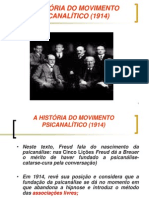 A HISTÓRIA DO MOVIMENTO PSICANALÍTICO 2012
