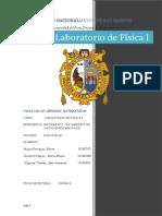 Informe N°2 Fisica I