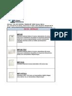 Catalogue Systeme d'Alarme ELKRON S