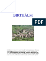 Birthälm (in rumänisch Biertan )
