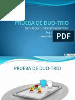 Prueba de Duo-trio