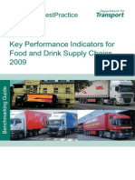 Key Performance Indicators for Food and Drink Supply Chains 2009