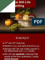Baroque Still Life Painting Compress Web