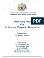 Marketing Plan for AlSalama Hospital