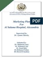 Marketing Plan for AlSalama Hospital