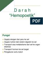 Darah ( Hemopoetik )