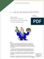 3 - Etica No Processo Decisorio