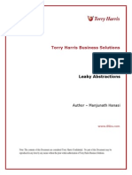 Leaky Abstractions | Torry Harris Whitepaper
