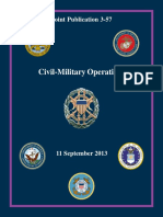 Joint Publication 3-57 Civil-Military Operations (2013) uploaded by Richard J. Campbell