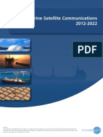 The Marine Satellite Communications 2012-2022