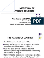 MEDIATION of Organisational Conflicts