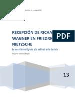 RECEPCIÓN DE WAGNER EN NIETZSCHE