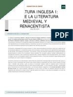 Ejes de La Literatura Medieval y Renacentista Guia