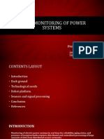 Robot Monitoring of Power Systems