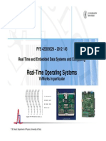2012-3 Realtime Operating Systems