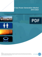 The Natural Gas Power Generation Market 2013-2023