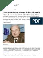 Lectie de Mancat Sanatos Cu Dr.mencinicopschi