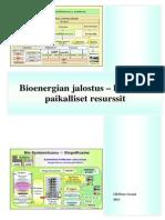 Bioenergian jalostus – hyödynnä paikalliset resurssit  - Ulf-Peter Granö 2013 FI