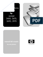 Manual Escaner HP