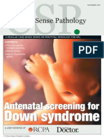 Antenatal Screening for Down Syndrome - Nov 2007