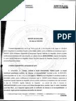 Raport ANI incompatibilitate Ghilea Gheorghe Sorin