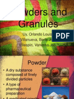 Powders and Granuleswhat