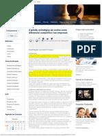 A gestão estratégica de custos como diferencial competitivo nas empresas _ Artigos