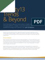 Online Advertising 2013 Trends