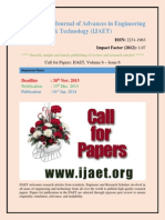 Call for Paper Engg 2013