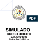 SIMULADO DIREITO