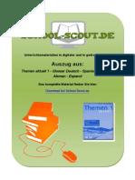 24891 Themen Aktuell 1 - Glossar Deutsch - Spanisch - Glosario Aleman - Espanol.1-Vorschau Als PDF