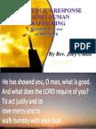 PastorJoey the Church's Response