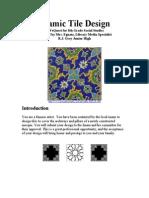 Islamic Tiles Web Quest