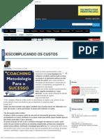 DESCOMPLICANDO OS CUSTOS - Artigos - Marketing - Administradores.com