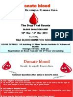 Ppt Pr Blood Donation