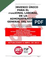 III Convenio Unico Personal Laboral AGE
