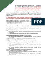 RESUMO DIREITO CONSTITUCIONAL - CÂMARA DOS DEPUTADOS
