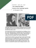 Secret Society of the Cambridge Apostles